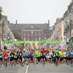 Maratón de Dublín 2012