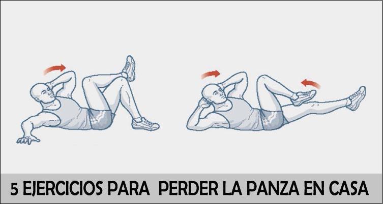 5 Ejercicios Para Perder La Panza En Casa Marathon Ranking