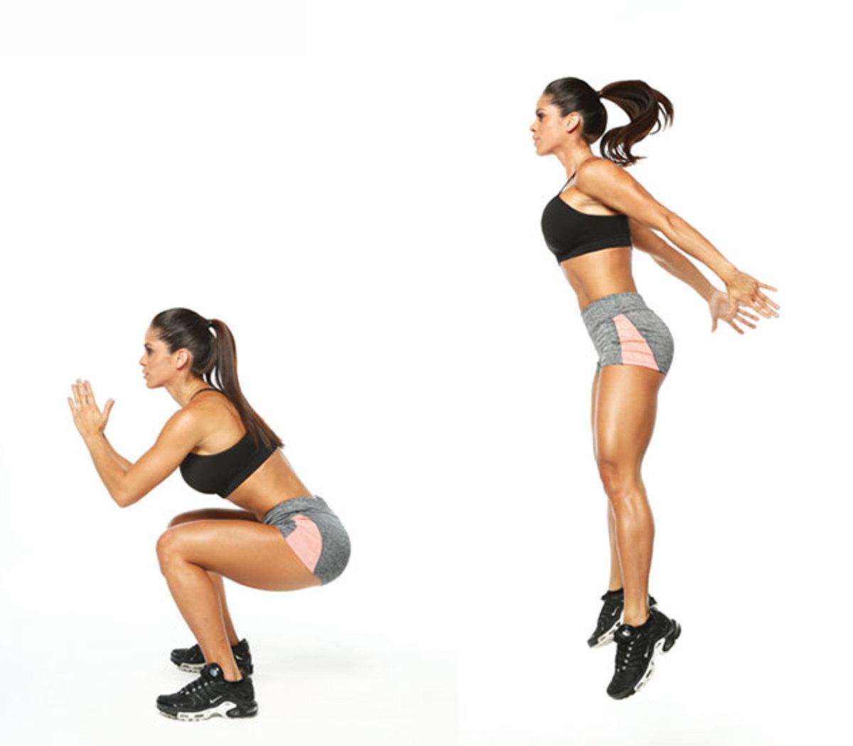 Resultado de imagen de fotos ejercicios pliometria